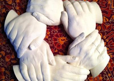 Six Hands Round