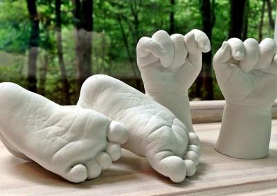 Anneliese's Baby's Feet & Hands